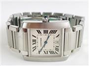 CARTIER AUTOMATIC TANK FRANCAISE STAINLESS 2302